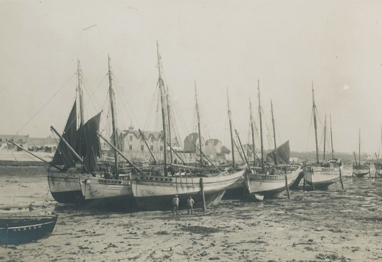Port du Guilvinec, avant 1930 - Archives familiales