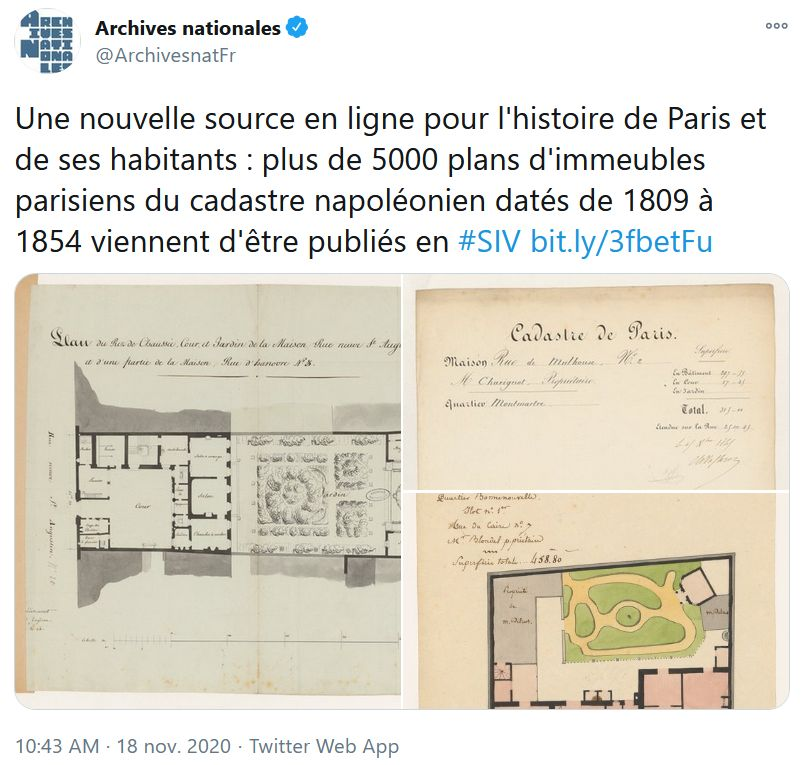 challengeAZ 2020 P feuilles immeubles Paris tweet