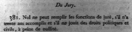 Code d'instruction criminelle, chapitre V