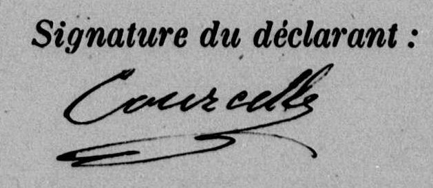 courcelle signature