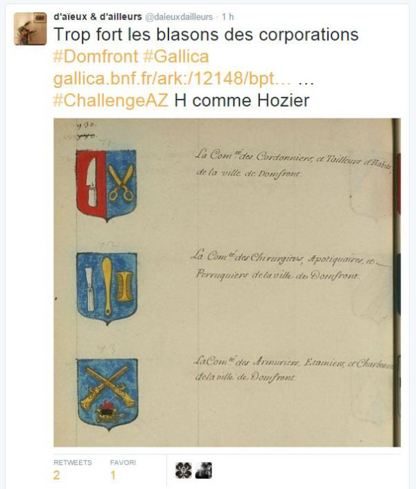 heraldique tweet
