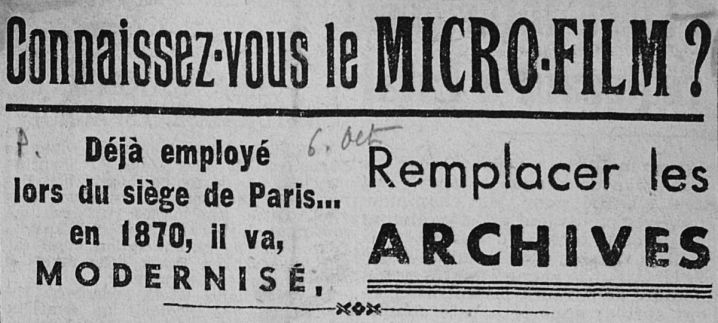Article du Populaire, 6 octobre 1948, Archives municipales et Ressources documentaires de Saint-Nazaire